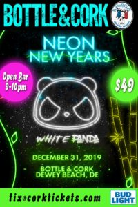 White Panda's Neon New Year's Eve Party