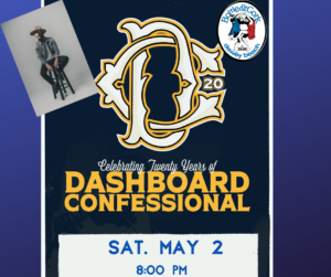 Dashboard Confessional – Celebrating 20 Years – #DC20 Tour