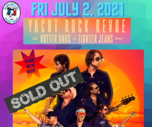 Yacht Rock Revue – SOLD OUT