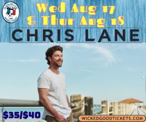CHRIS LANE – WED AUG 18