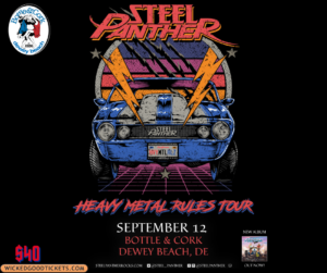 Steel Panther $40