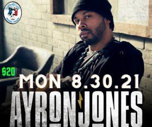 An Evening with -Ayron Jones – FREE CONCERT